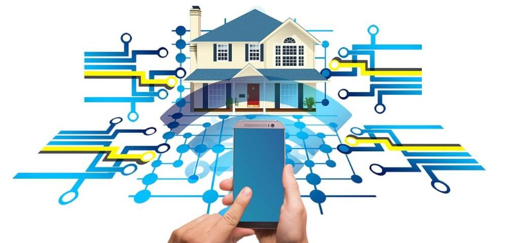 Smartphone as remote control for your Smart home