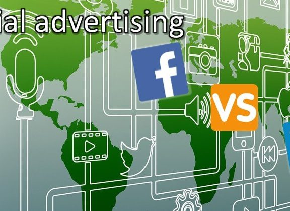 Social advertising - Facebook compared to LinkedIn