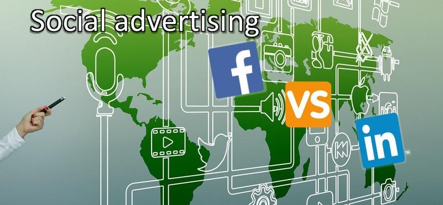 Social advertising - Facebook vergeleken met LinkedIn