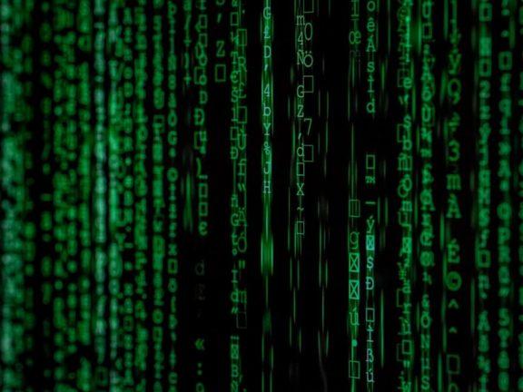 matrix scherm