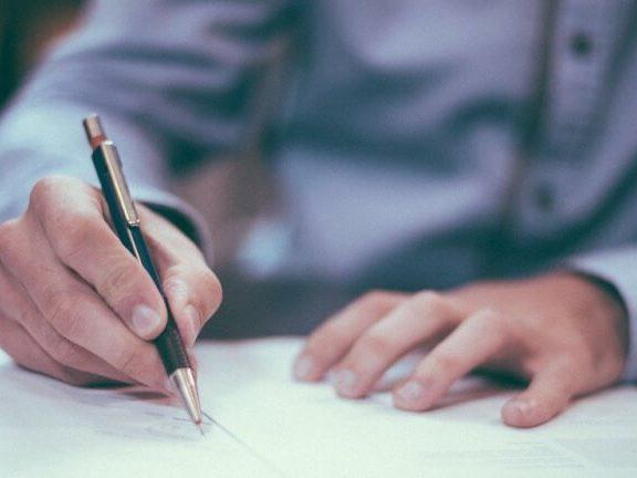 Ondertekening contract