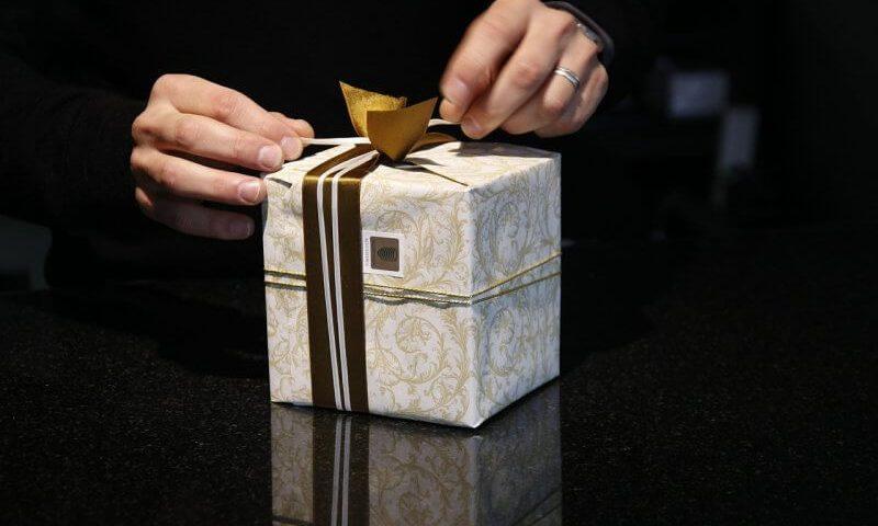 inpakken cadeautje